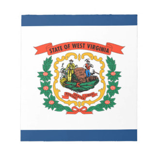 Flag Of West Virginia Notepad