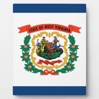 Flag Of West Virginia Plaque