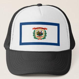 Flag Of West Virginia Trucker Hat