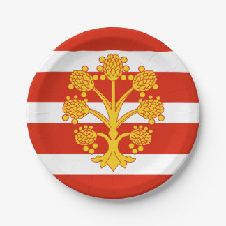 Flag of Westmorland Paper Plate