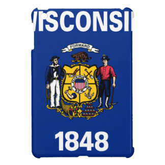 Flag Of Wisconsin iPad Mini Cases
