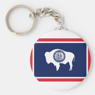Flag Of Wyoming Key Ring