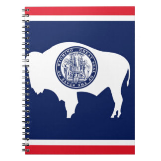 Flag Of Wyoming Notebook