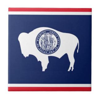 Flag Of Wyoming Tile