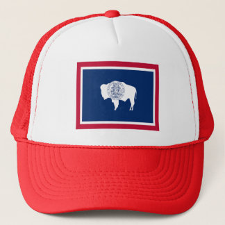 Flag of Wyoming Trucker Hat