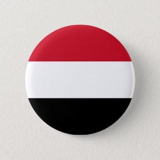 Flag of Yemen on Pin / Button Badge