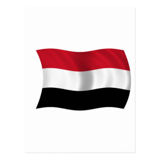Flag of Yemen Postcard