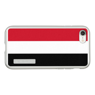Flag of Yemen Silver iPhone Case