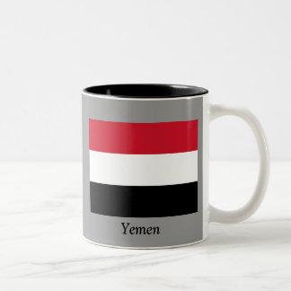 Flag of Yemen Two-Tone Coffee Mug