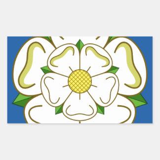 Flag of Yorkshire Rectangular Sticker