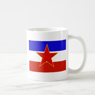Flag of Yugoslavia Coffee Mug