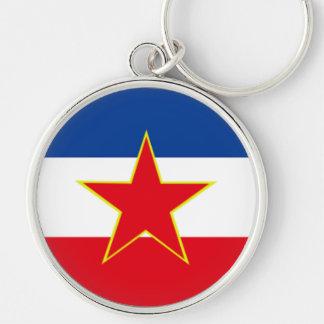 Flag of Yugoslavia Key Ring
