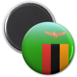 Flag of Zambia Magnet