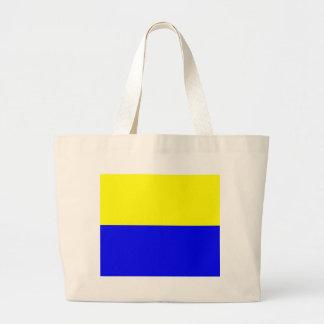 Flag of Zandvoort Large Tote Bag
