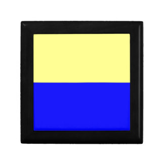 Flag of Zandvoort Small Square Gift Box