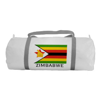 Flag of Zimbabwe Africa Gym Bag