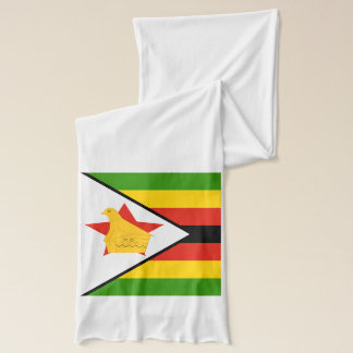 Flag of Zimbabwe Africa Scarf