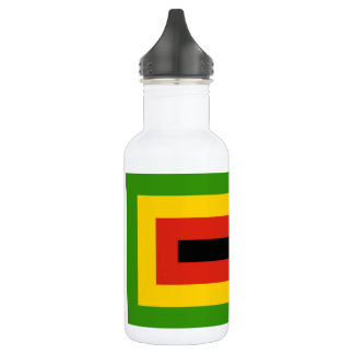 Flag of Zimbabwe African National Union 532 Ml Water Bottle
