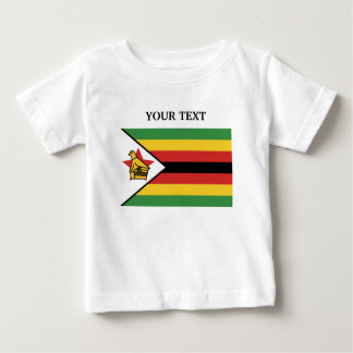 Flag of Zimbabwe Baby T-Shirt