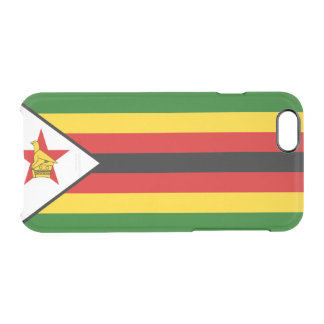 Flag of Zimbabwe Clear iPhone Case