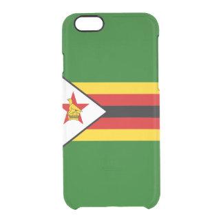 Flag of Zimbabwe Clear iPhone Case