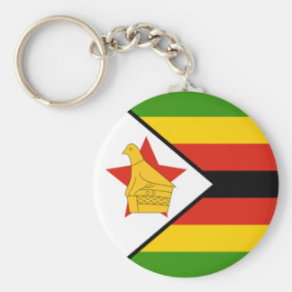 Flag of Zimbabwe Key Ring