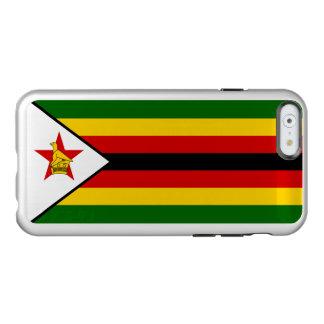 Flag of Zimbabwe Silver iPhone Case Incipio Feather® Shine iPhone 6 Case