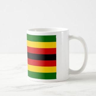Flag of Zimbabwe - Zimbabwean - Mureza weZimbabwe Coffee Mug