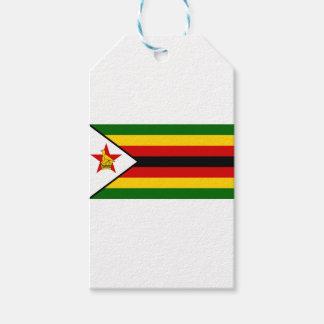Flag of Zimbabwe - Zimbabwean - Mureza weZimbabwe Gift Tags