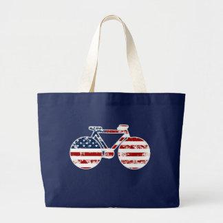 flag patriotic United States of America bicycle Bag