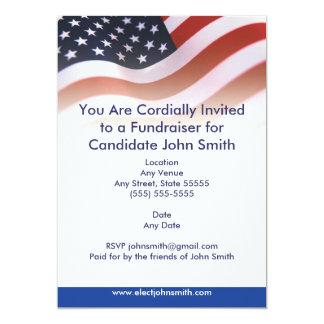 Flag Political Invitation