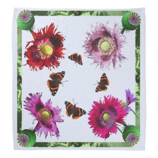 Flag Poppy Variety with Butterfly Bandana
