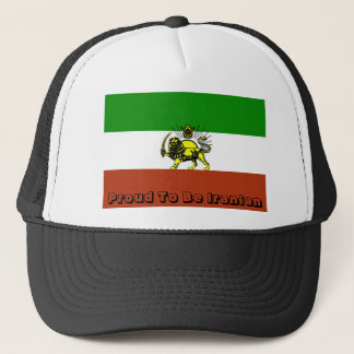 Flag, Proud To Be Iranian Trucker Hat
