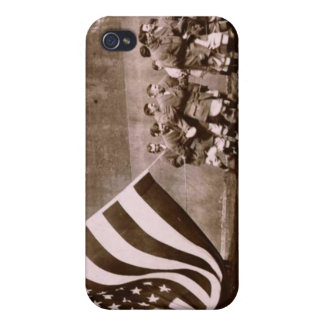 Flag Raising Ceremony 1914 Ebbets Field Case For iPhone 4