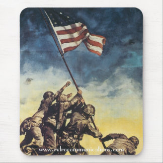 Flag Raising Over Iwo Jima Mouse Pad