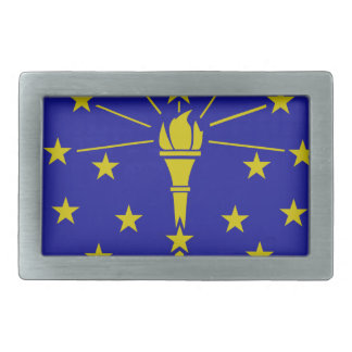 flag rectangular belt buckles