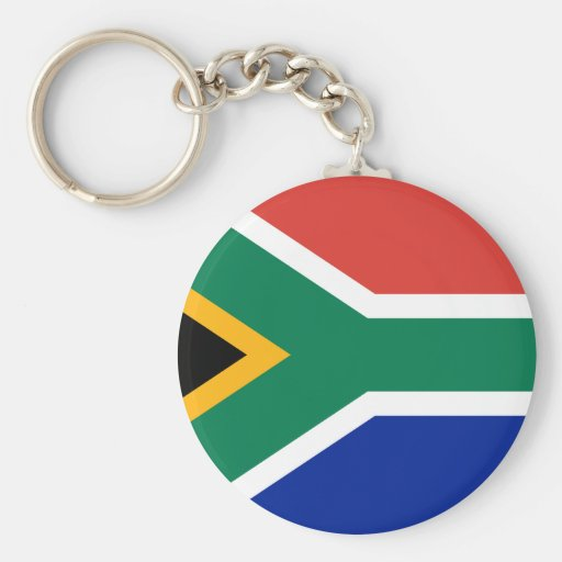 Flag - Republic of South Africa Keychain