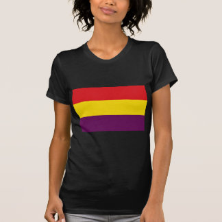 Flag Republic of Spain - Bandera República España T-Shirt
