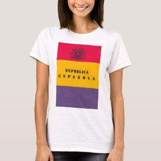 Flag Republic of Spain - Bandera República España T-Shirt