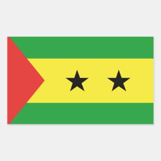 flag_saotomeeprincipe.ai rectangular sticker