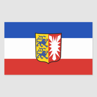 Flag Schleswig-Holstein Rectangular Sticker