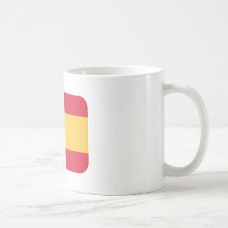 Flag spain Twitter emoji Coffee Mug