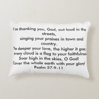 flag to your Faithfulness Accent Pillow