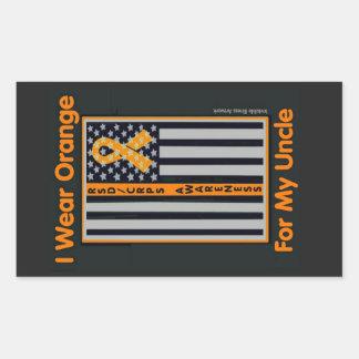 Flag/Uncle...RSD/CRPS Rectangular Sticker