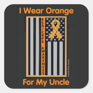 Flag/Uncle...RSD/CRPS Square Sticker