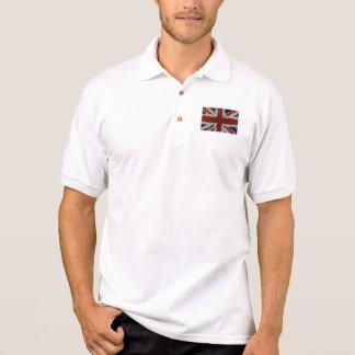 Flag Union Jack United Kingdom mosaic Polo Shirt