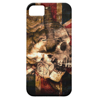 Flag United Kingdom England London Grunge iPhone 5 Cover