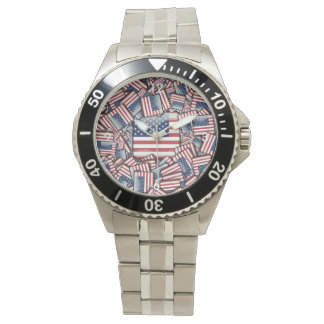 Flag_United_States_by_JAMColors Wristwatch