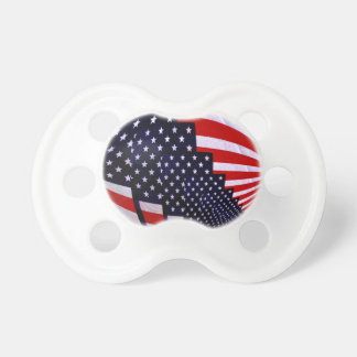 Flag-USA -Spread the Love_ Pacifiers