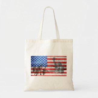 Flag USA veteran Personalize Destiny Destiny'S Tote Bag